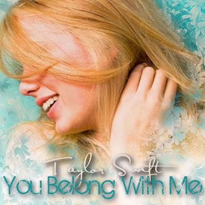 You Belong with me - Fearless (Taylor Swift album) Fan Art ...