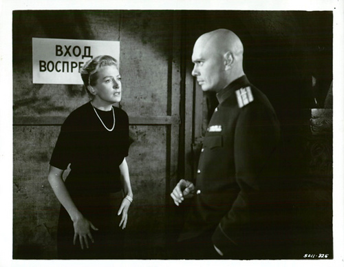 Yul Brynner wallpaper possibly containing a green beret, battle dress, and fatigues called Yul Brynner and Deborah Kerr - The Journey