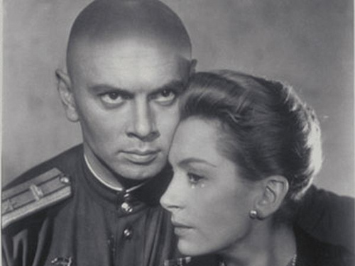 Yul Brynner দেওয়ালপত্র called Yul Brynner and Deborah Kerr - The Journey