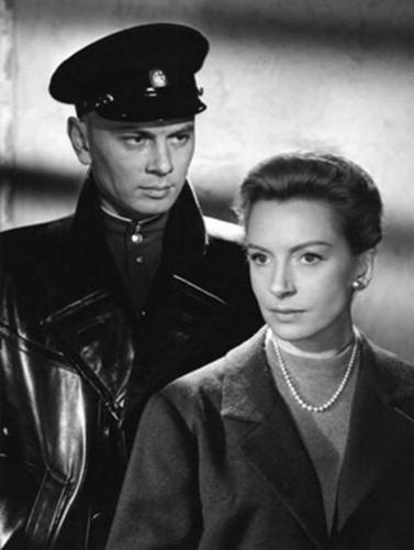 Yul Brynner wallpaper possibly containing a full dress uniform, dress blues, and regimentals called Yul Brynner and Deborah Kerr - The Journey
