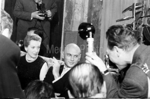 Yul Brynner wallpaper entitled Yul Brynner and Deborah Kerr - The Journey