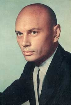 Yul Brynner দেওয়ালপত্র probably containing a portrait titled Yul Brynner