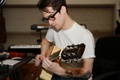 brenny & his guitar  - brendon-urie photo