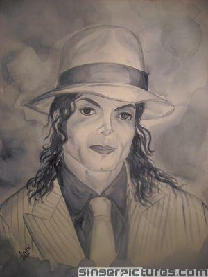 cool mj smooth criminal drawing