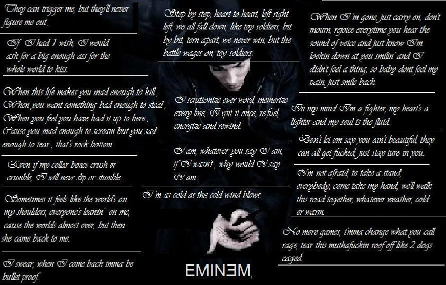 favourite emnem lyirc quotes eminem fan art 17902780