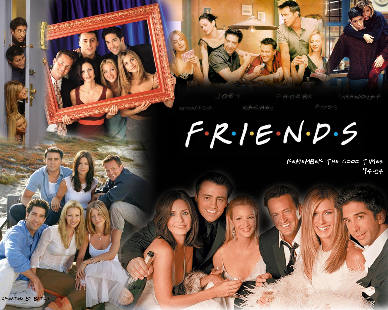 Friends Remember The Good Times 94 04 Friends Wallpaper