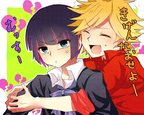 gender bender - panty-and-stocking-with-garterbelt Photo