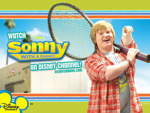 Sonny With A Chance پیپر وال with a tennis pro, a tennis racket, and a tennis player entitled grady