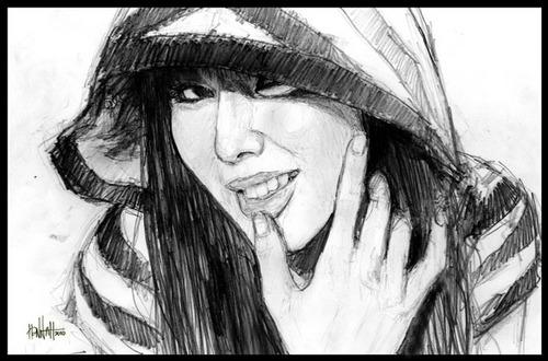 hyun ah sketch