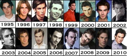Damon Salvatore پیپر وال probably with a holding cell, a stained glass window, and a portrait entitled ian somerhalder