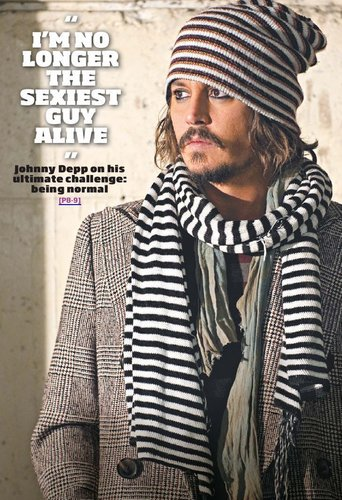 johnny depp- 23 December 2010 issue