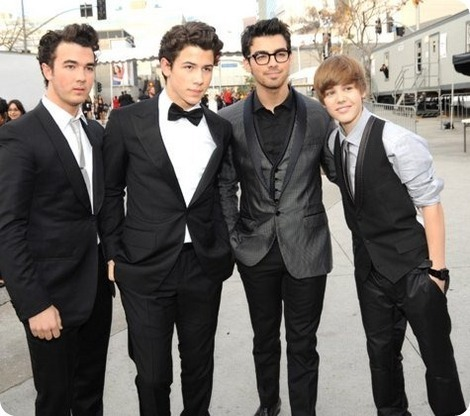 justin bieber and the jonas brothers