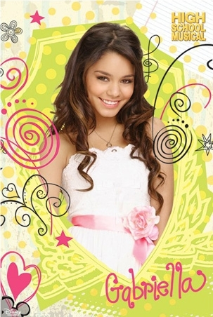 High School Musical 2 wallpaper probably containing a portrait called lovely gabriella