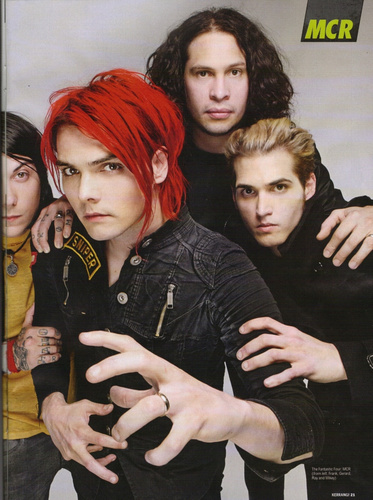 mcr old and new xox
