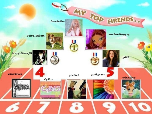 my friends lista mejorated