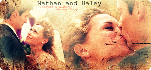 nathan and Haley.