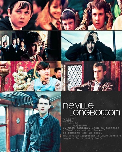 neville is pretty bamf