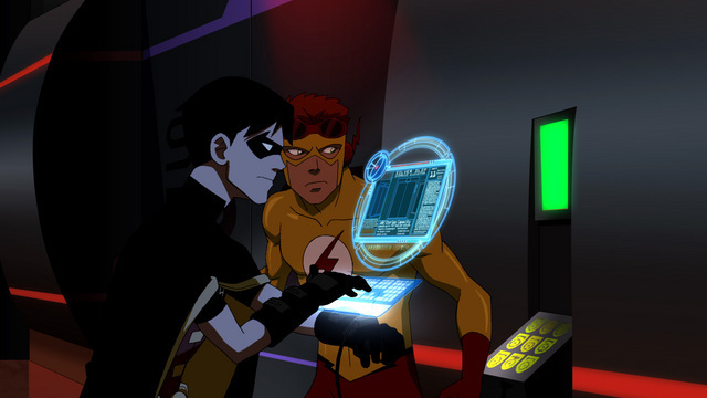 robin and kid flash