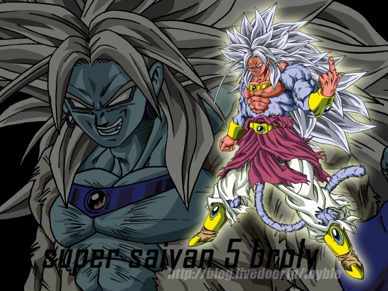 ssj5 Broly! - Broly The Legendary Super Saiyan 800x600