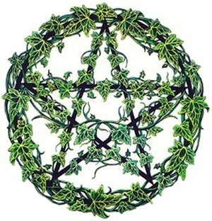 Green Ivy Pentacle