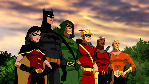 young justice and justice league
