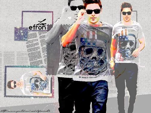 Zac Efron wallpaper with long trousers titled zac