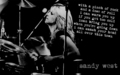 'Queens of Noise' - Sandy West - the-runaways wallpaper