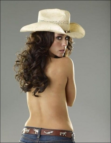 """Jennifer Love Hewitt wallpaper containing a snap brim hat, a campaign hat, and a sombrero called """"The Client List"""" Promo Photos HQ"""