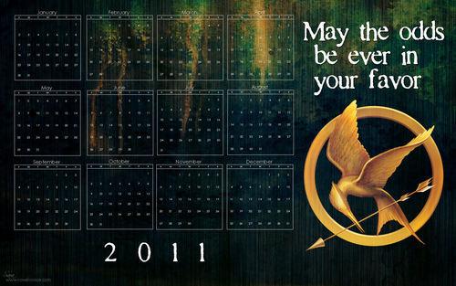 "The Hunger Games wallpaper called ""The Hunger Games"" 2011 Calendar Wallpaper"