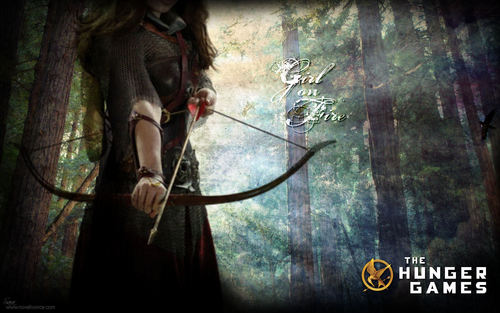 """The Hunger Games"" fondo de pantalla"