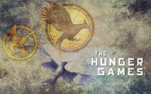 """The Hunger Games"" پیپر وال"