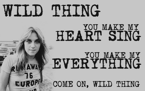 'Wild Thing' - Sandy West