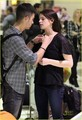 Ashley and Joe  in Los Angeles, Calif.Wednesday (December 29) - twilight-series photo