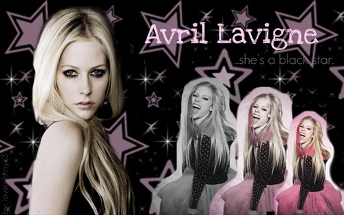 Avril Lavigne wallpaper with a portrait titled Avril Lavigne Wallpaper <3