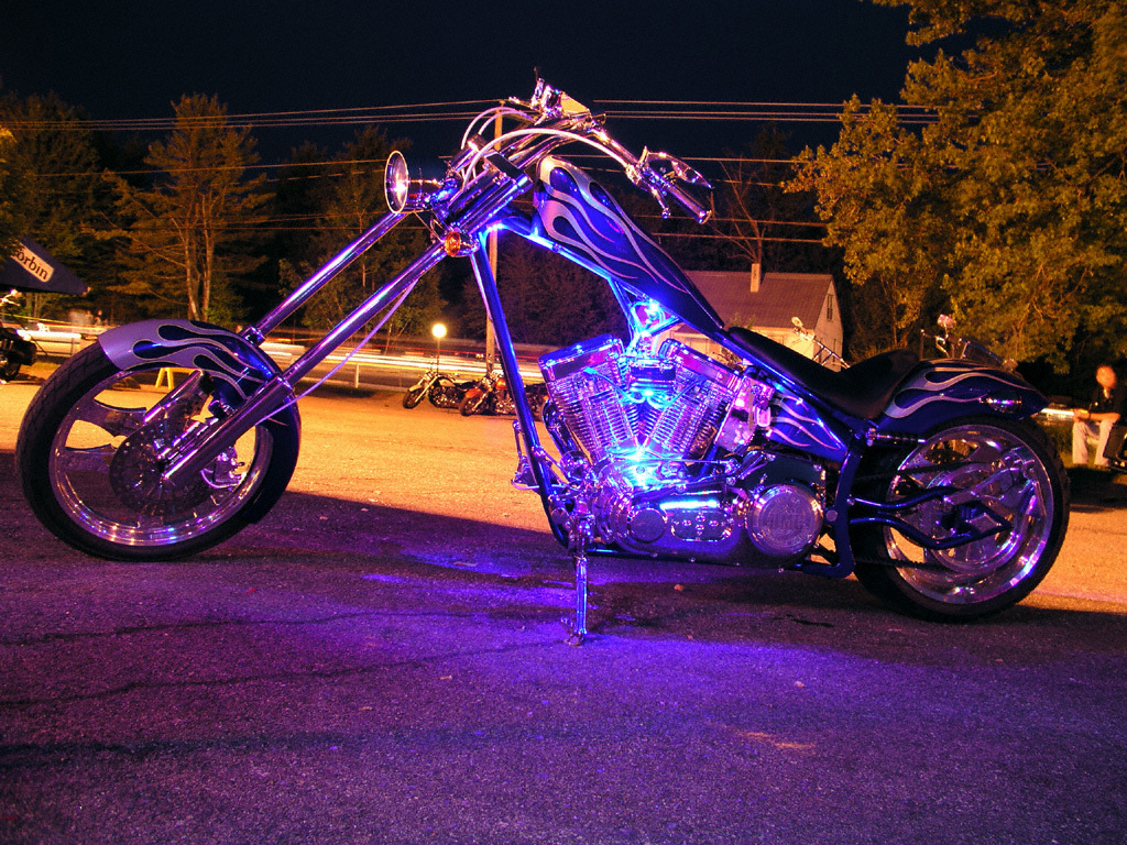 neon flame motorcycle wallpaper - photo #32
