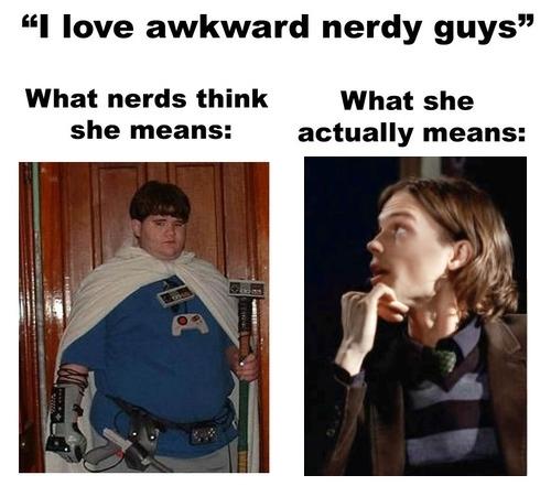 Awkward nerds<3