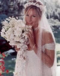 Barbra Streisand 바탕화면 possibly with a bouquet entitled Barbra Streisand - Wedding 일