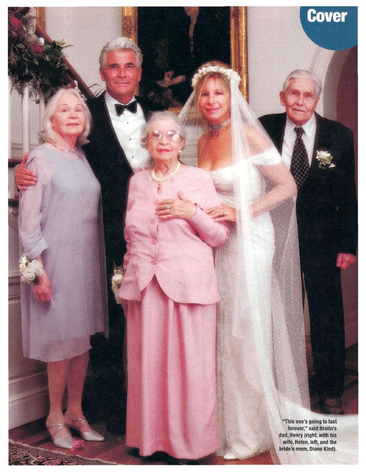 Barbra Streisand's Wedding - People