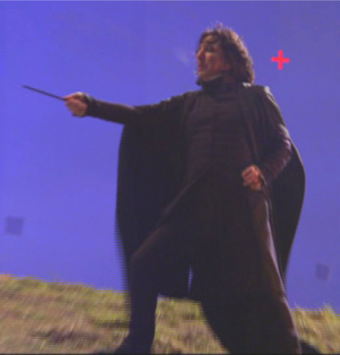 Behind the scene Severus Snape xD