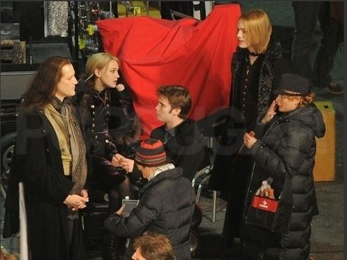 Breaking Dawn set - December 15, 2010