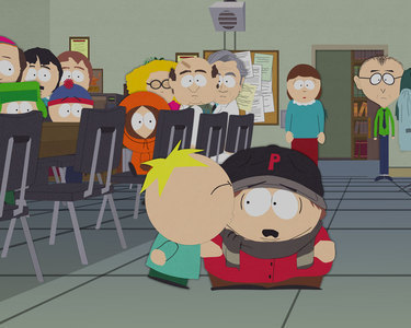 OTP con el personaje de arriba - Página 2 Butters-Kissing-Cartman-south-park-18071314-375-300