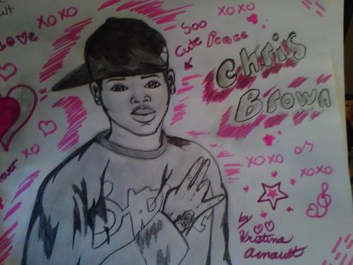 Chris Brown drawing 2
