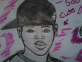 Chris Brown drawing - chris-brown fan art