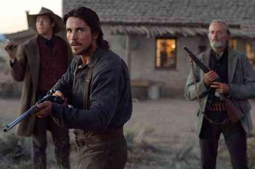 Kevin Durand, Christian Bale, & Peter Fonda as Tucker, Dan, & Byron