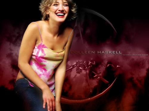 Colleen Haskell wallpaper possibly containing a bustier, bustiê called Colleen Haskell