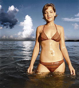 Colleen Haskell wallpaper possibly containing a bikini entitled Colleen Haskell
