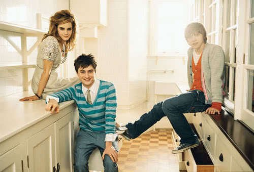 Dan,Rupert and Emma