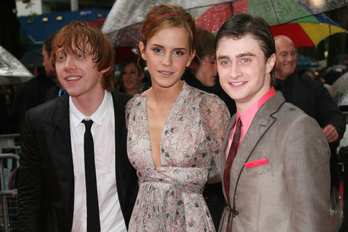Dan,Rupert and Emma - harry-potter Photo