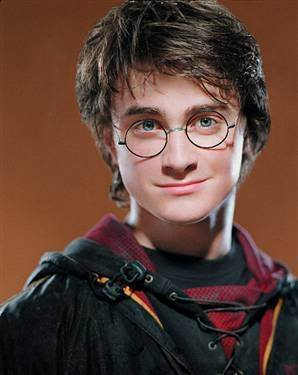 Dan as Harry Potter