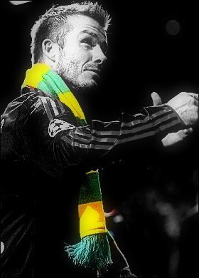 Manchester United wallpaper titled David Beckham - Anti-Glazers